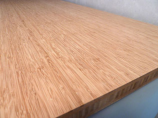 Bambus massivholzplatte