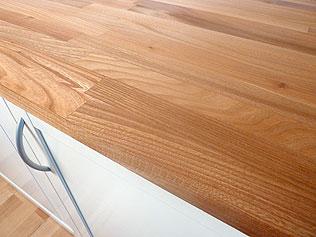 larbon arbeitsplatten aus massivholz, küchenarbeitsplatten